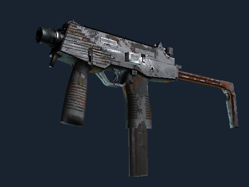 MP9 | Slide (Battle-Scarred)