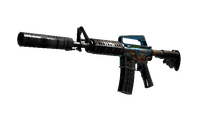 M4A1-S | Control Panel (Battle-Scarred)