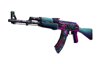 AK-47 | Neon Rider (Battle-Scarred)