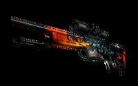SSG 08   Dragonfire (Minimal Wear)