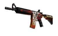 M4A4 | Hellfire (Minimal Wear)
