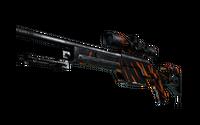 StatTrak™ SSG 08   Slashed (Well-Worn)