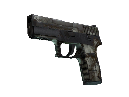 Souvenir P250 | Bone Mask (Battle-Scarred)