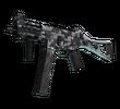 UMP-45 | Пиксельный камуфляж «Город» (После полевых испытаний)