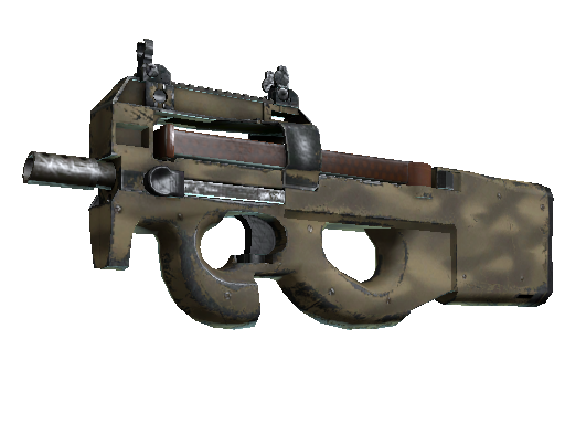 P90 | Sand Spray (Well-Worn)