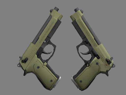 Dual Berettas | Colony (Minimal Wear)
