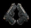 Dual Berettas | Наемник (Поношенное)