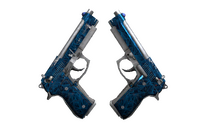 Dual Berettas | Cobalt Quartz (Field-Tested)