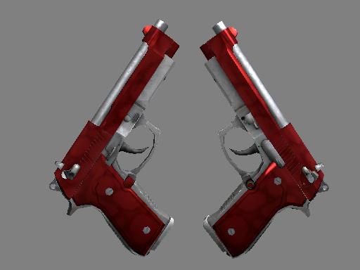 Dual Berettas | Hemoglobin (Factory New)