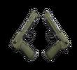 Dual Berettas | Колония (После полевых испытаний)