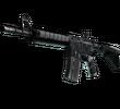 M4A4 | Пиксельный камуфляж «Город» (Закаленное в боях)
