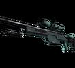 SSG 08   Голубая хвоя (Поношенное)