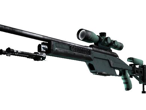 SSG 08 | Blue Spruce (Well-Worn)