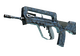 FAMAS | Cyanospatter (Field-Tested)