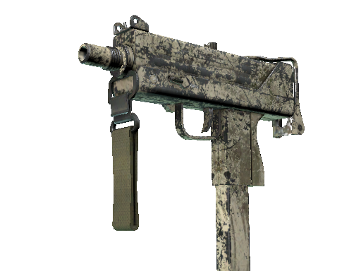 MAC-10 | Palm (Battle-Scarred)