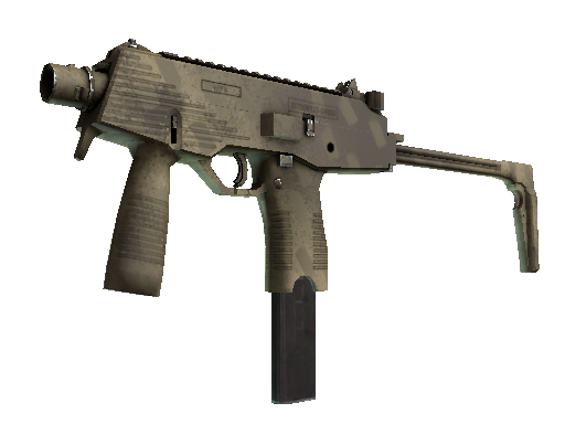 MP9 | Sand Dashed (Minimal Wear)