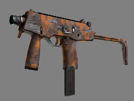 MP9 | Orange Peel (Well-Worn)