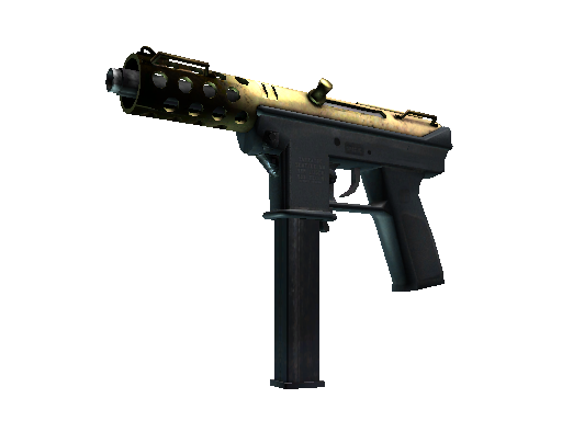 Tec-9 | Brass (Well-Worn)