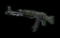 AK-47 | Jungle Spray (Battle-Scarred)
