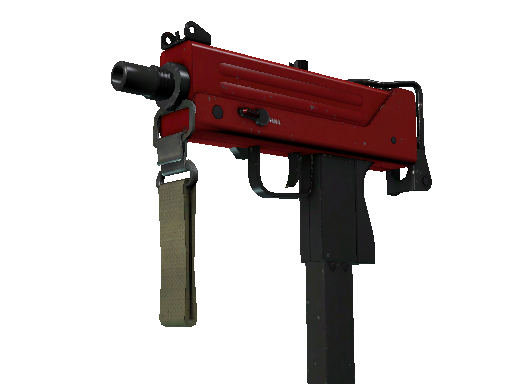 MAC-10 | Candy Apple (Field-Tested)