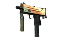 MAC-10 | Amber Fade (Field-Tested)