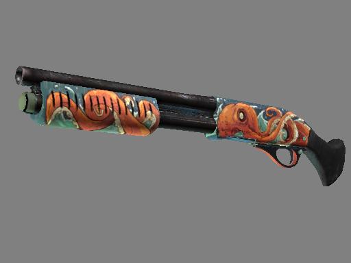 Sawed-Off | The Kraken (Minimal Wear)