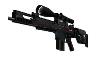 StatTrak™ SCAR-20   Crimson Web (Battle-Scarred)