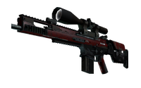 StatTrak™ SCAR-20 | Crimson Web (Field-Tested)