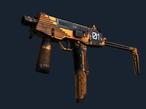 MP9 | Modest Threat (Well-Worn)