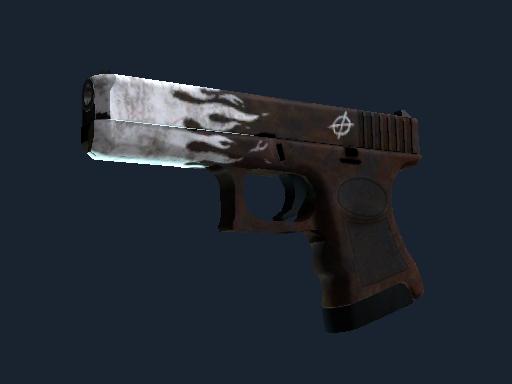 StatTrak™ Glock-18 | Oxide Blaze (Minimal Wear)