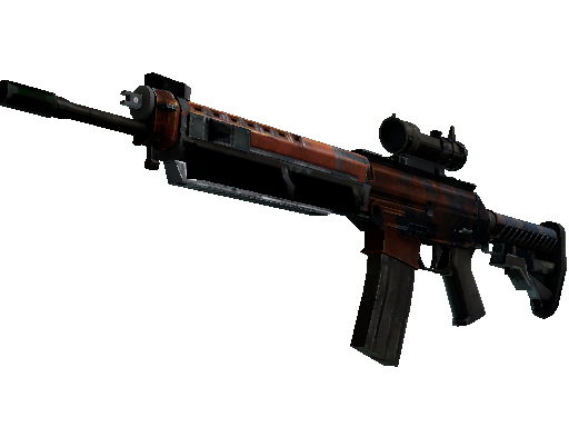 SG 553 | Danger Close (Battle-Scarred)