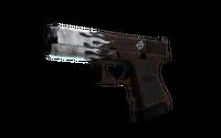 StatTrak™ Glock-18 | Oxide Blaze (Well-Worn)