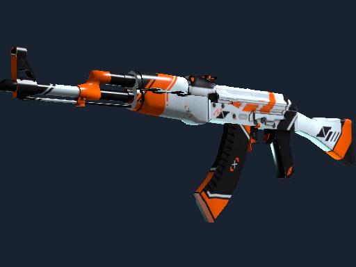 StatTrak™ AK-47   Asiimov (Factory New)