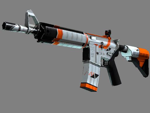 StatTrak™ M4A4 | Asiimov (Well-Worn)
