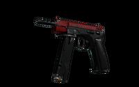 CZ75-Auto | Crimson Web (Well-Worn)