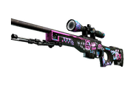 StatTrak™ AWP | Fever Dream (Factory New)