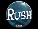 Sticker   RUSH   Katowice 2019