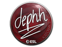 Sticker | dephh | Katowice 2019