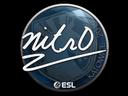 Sticker   nitr0   Katowice 2019