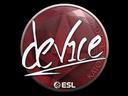 Sticker   device   Katowice 2019