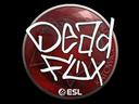Sticker   DeadFox   Katowice 2019
