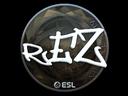 Sticker | REZ (Foil) | Katowice 2019