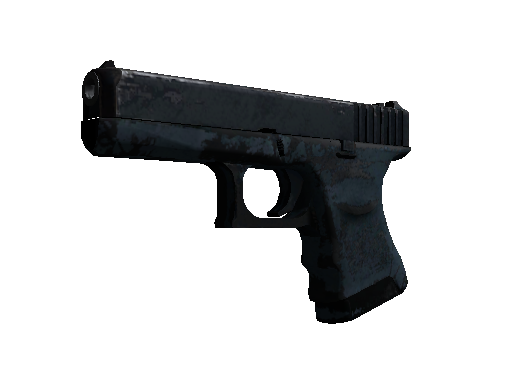 Souvenir Glock-18 | Night (Battle-Scarred)