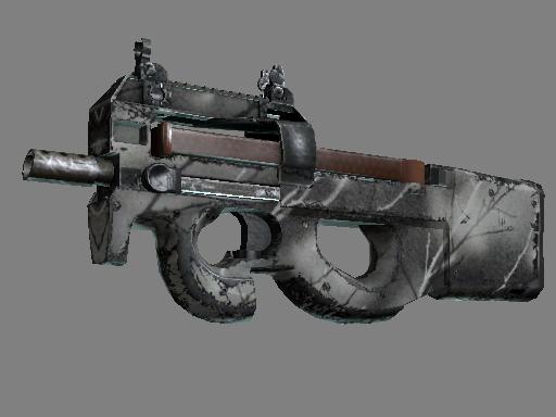 Souvenir P90 | Ash Wood (Field-Tested)
