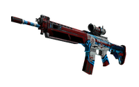 Souvenir SG 553 | Integrale (Battle-Scarred)