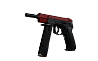 CZ75-Auto | Crimson Web (Minimal Wear)