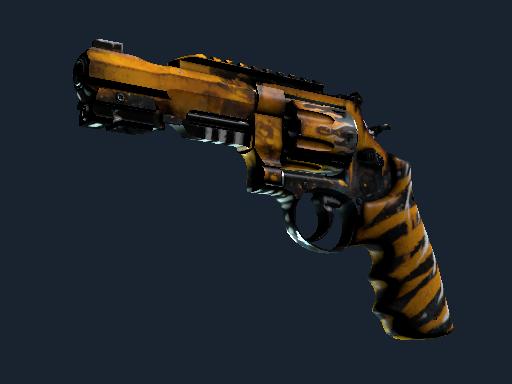 R8 Revolver | Skull Crusher (Well-Worn)