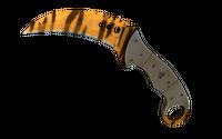★ Talon Knife | Tiger Tooth (Minimal Wear)