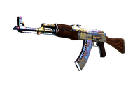 AK-47 | Case Hardened (Well-Worn)