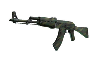 AK-47 | Jungle Spray (Well-Worn)